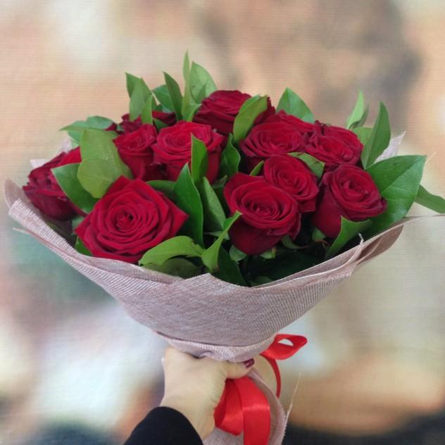 Букет №13 Букет из красных роз